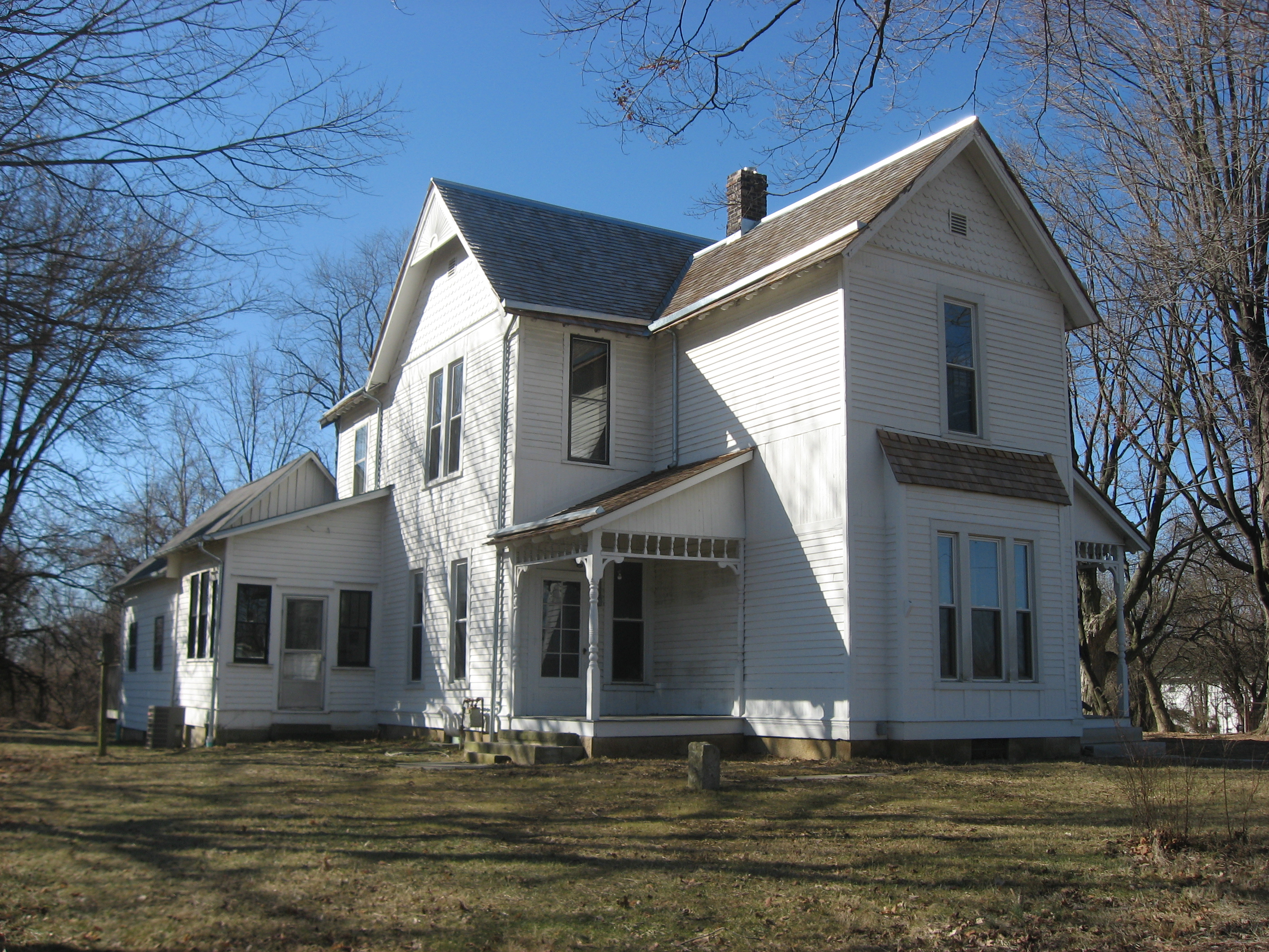 File Hinkle Garton Farmhouse Front And Eastern