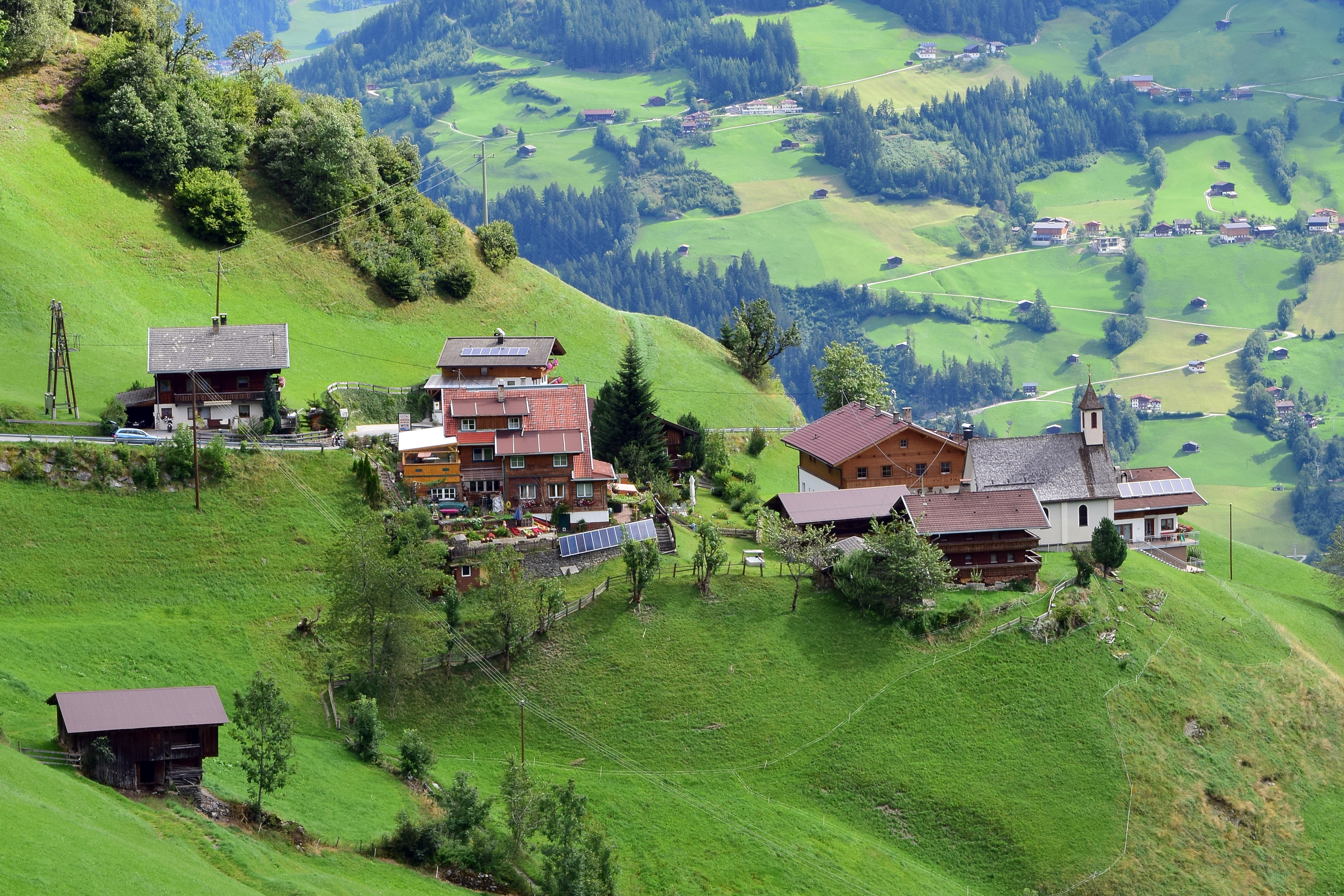 Zillertal Osterreich Hotel