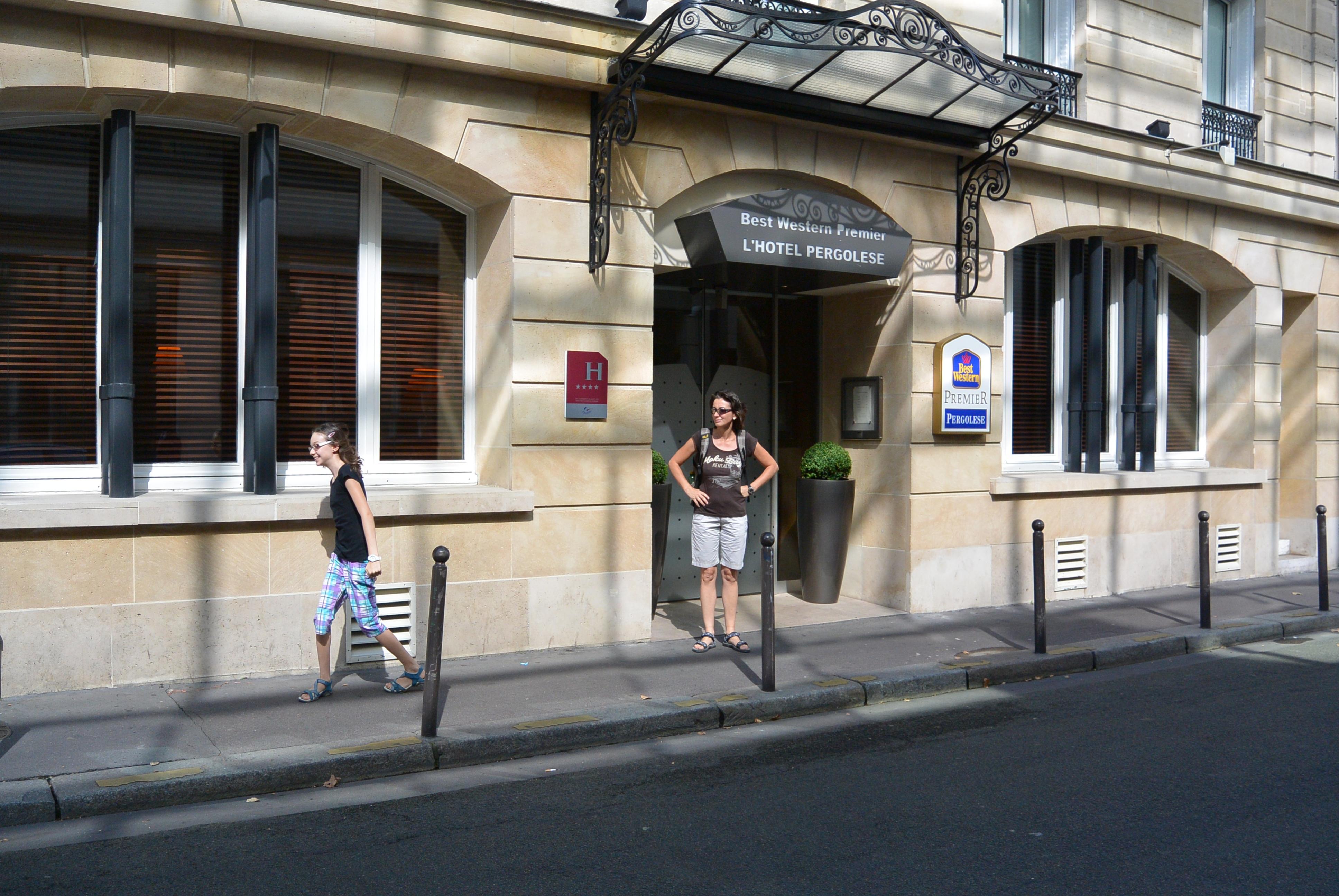 File Hotel Pergolese  3 Rue Pergolese  75016 Paris 2013