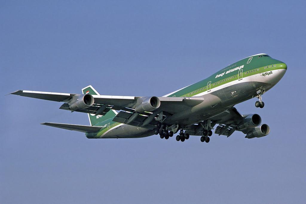 Resultado de imagen de Iraqi Airways