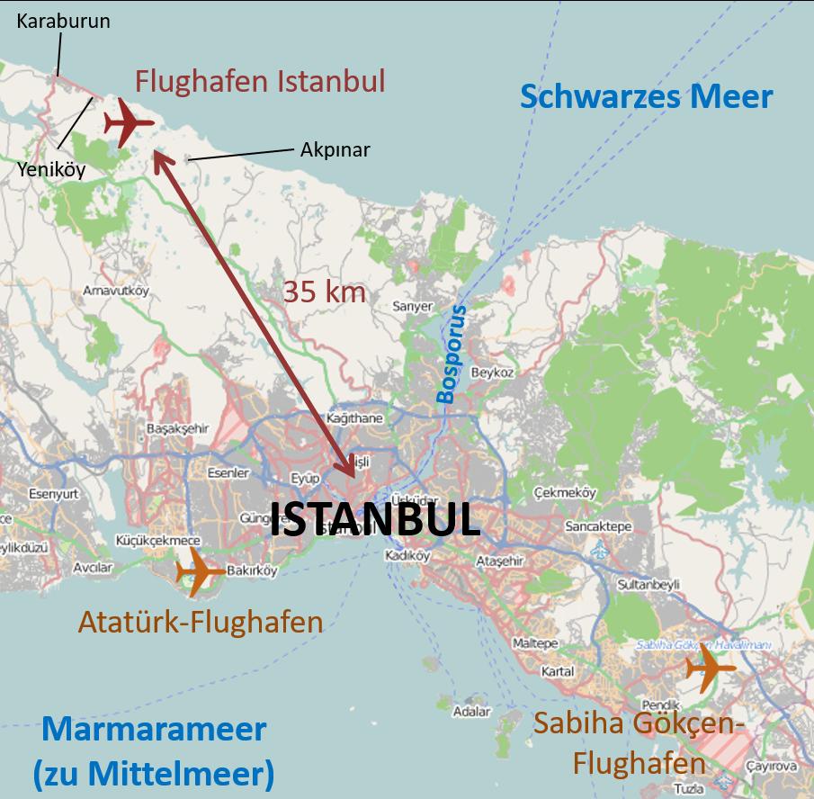 FileIstanbul International Airport Location Mappng Wikimedia Commons