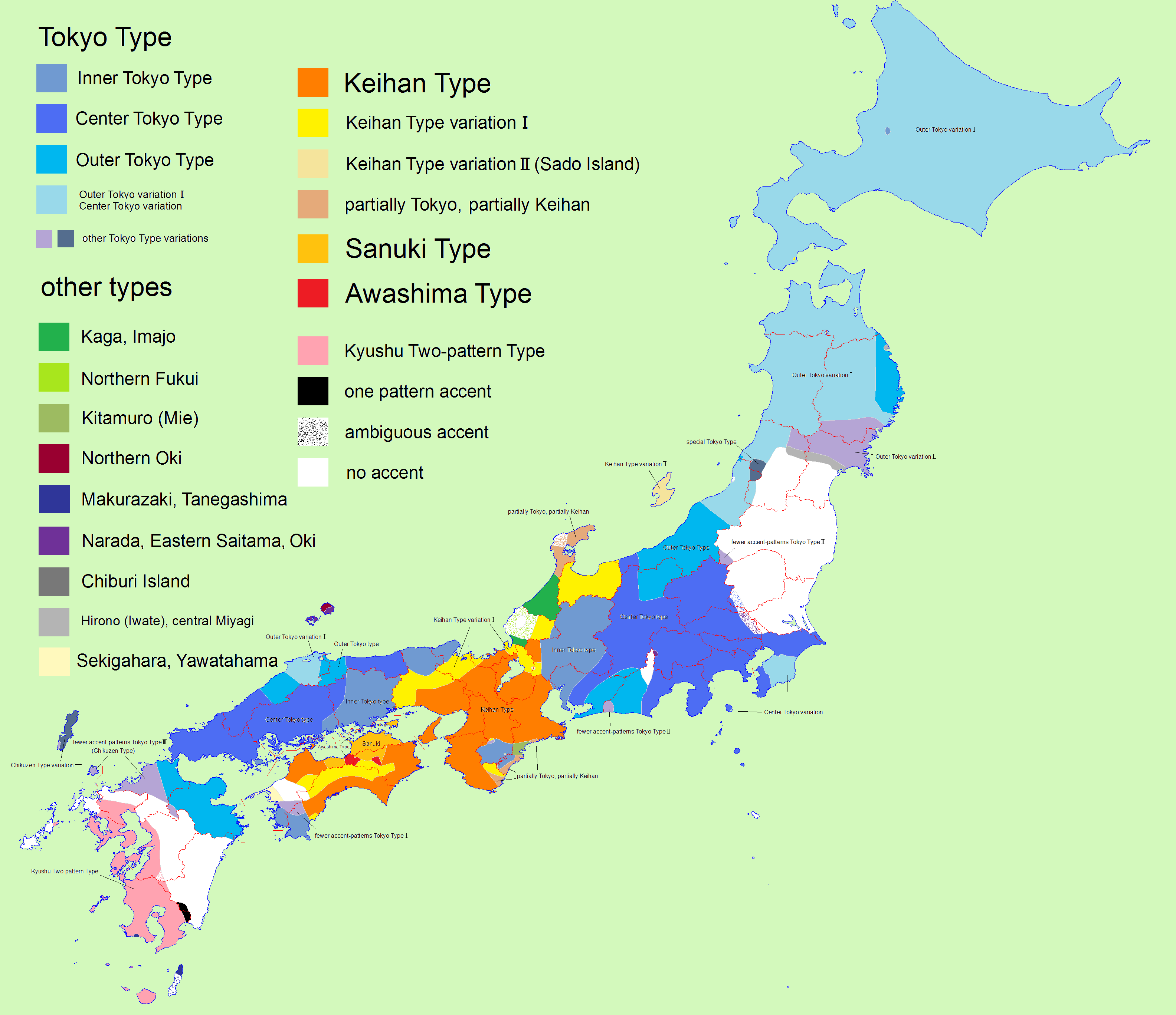 FileJapanese Pitch Accent Map Enpng Wikimedia Commons - Japan map center