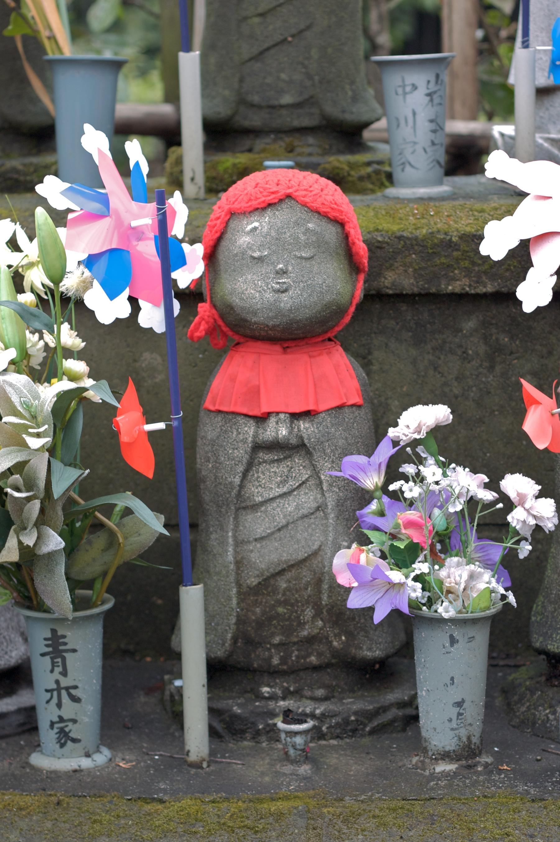 Jizo Statue Locations File:jizo Statue at Zōjō-ji