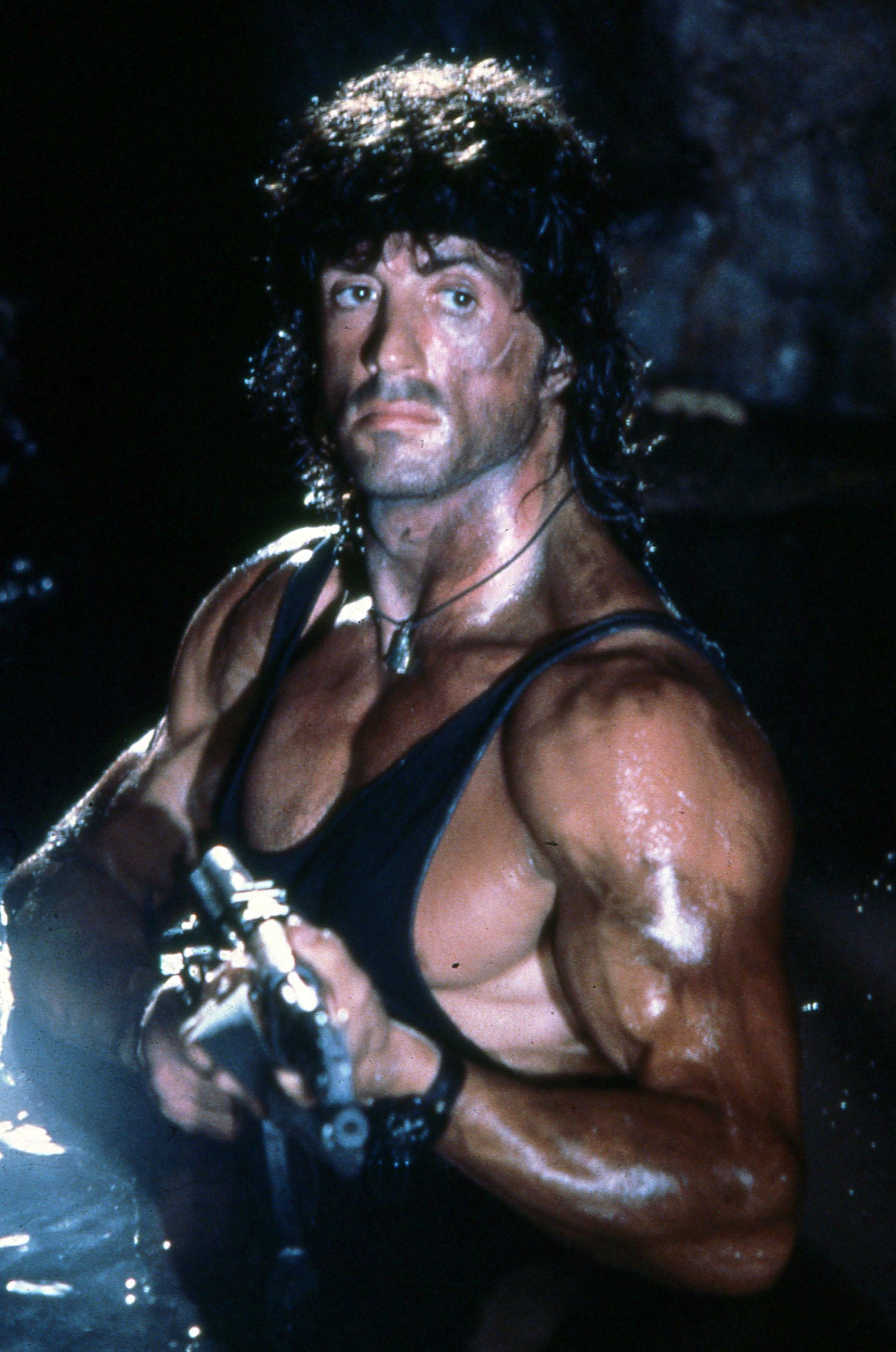 Depiction of Rambo
