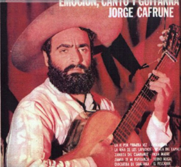 Jorge Cafrune net worth salary