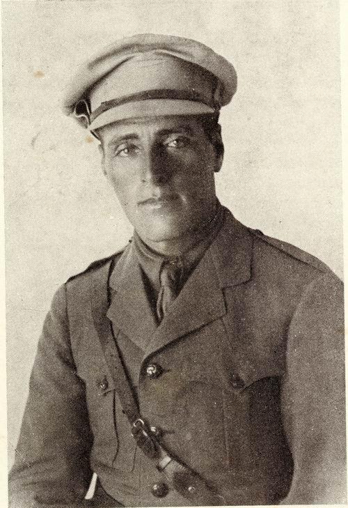 Иосиф Трумпельдор (21 ноября 1880, Пятигорск, Российская империя — 1 марта 1920, Тель-Хай, Галилея, Палестина)