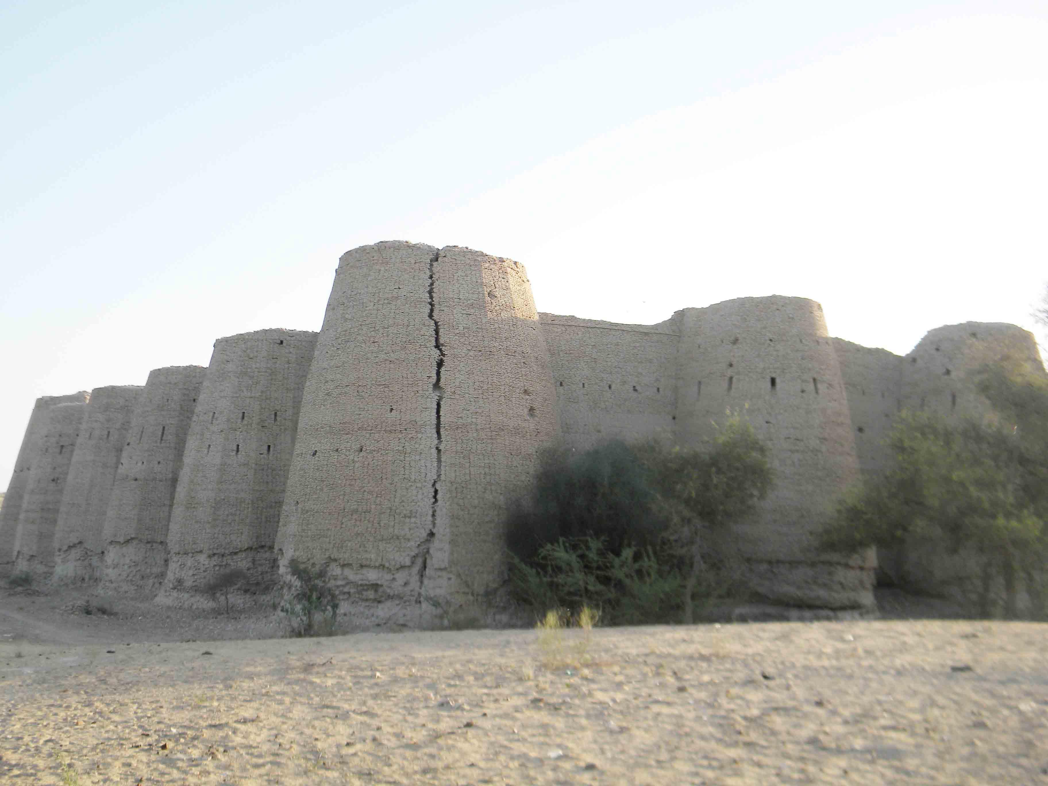 The famous Kishangarh fort near Kota
