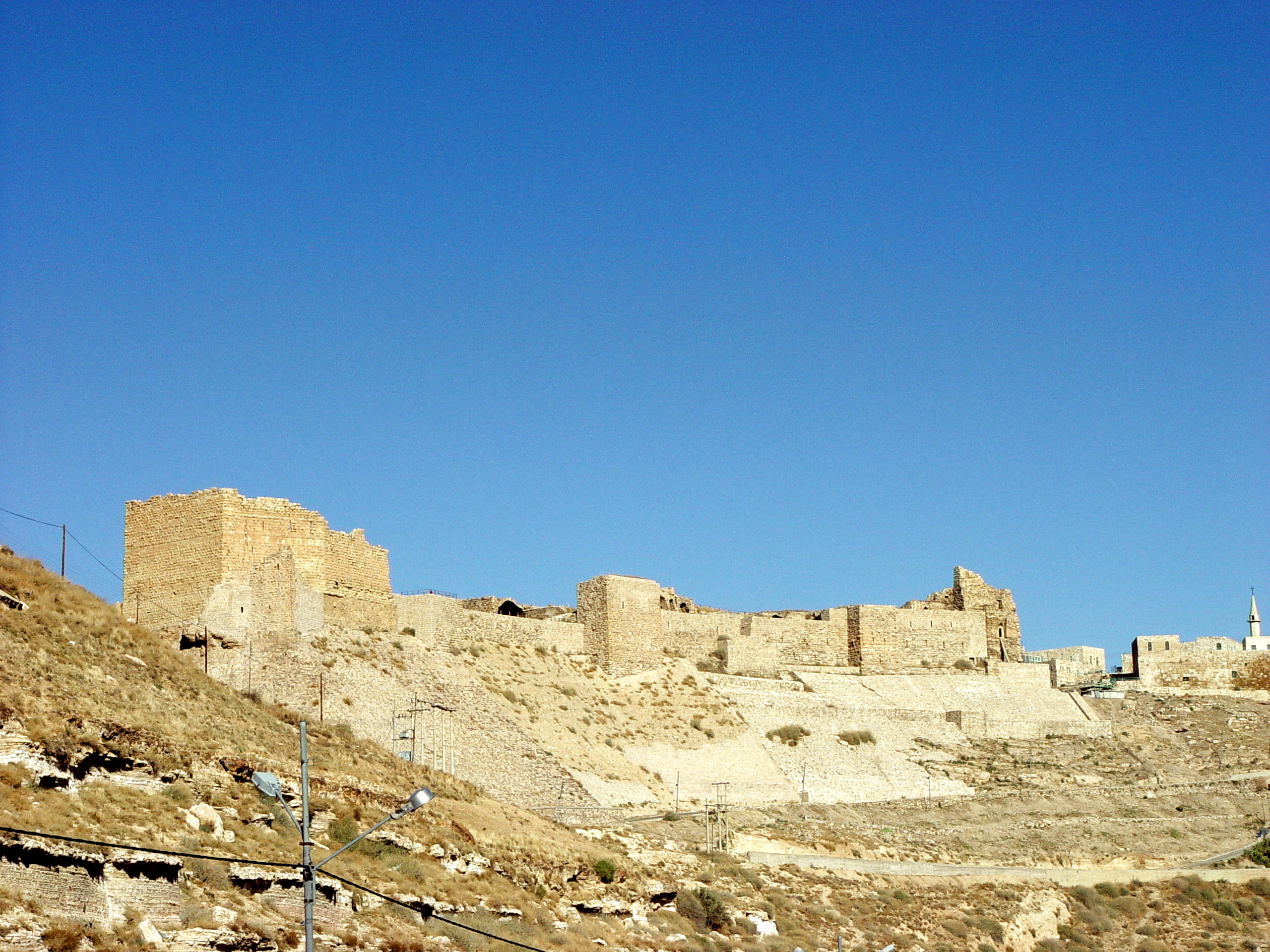 Karak Jordan  City pictures : Karak castle in Jordan Wikipedia, the free encyclopedia