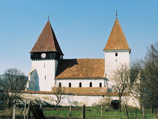 Biserica fortificată din Merghindeal