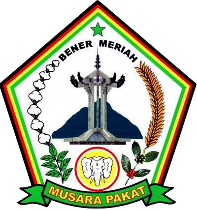 Image result for logo kabupaten bener meriah PNG
