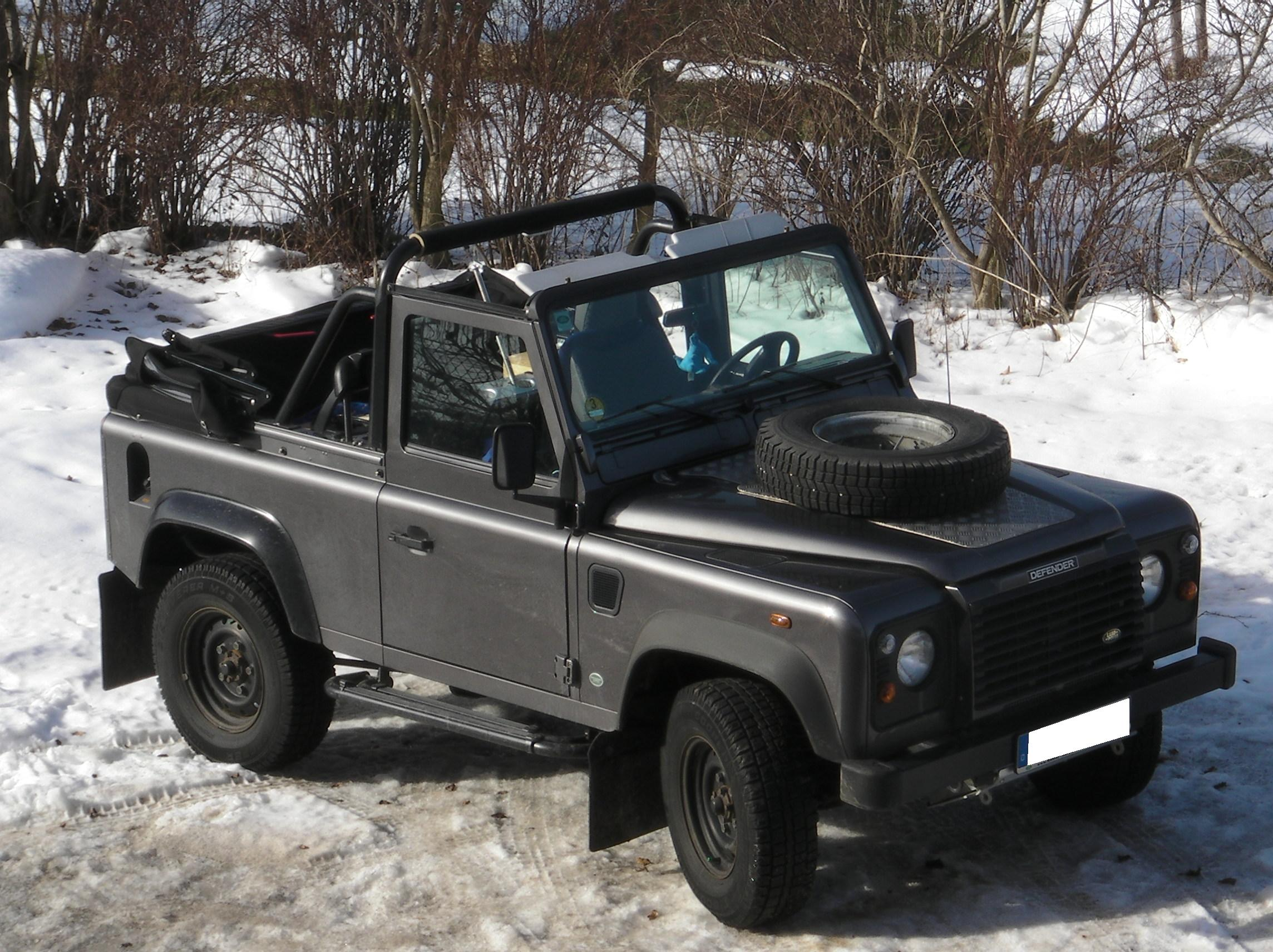 File Landrover Defender Cabrio Two Jpg Wikimedia Commons