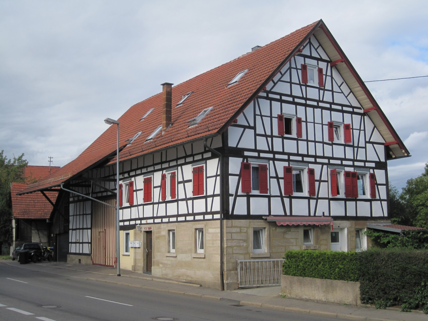 Leinfelden-Echterdingen Germany  City new picture : Beschreibung Leinfelden Echterdingen OT Stetten Bauernhaus 01