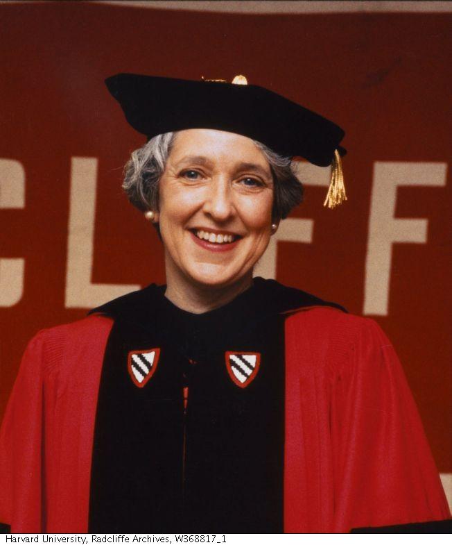 Linda S. Wilson as Radcliffe President(1989-1999)