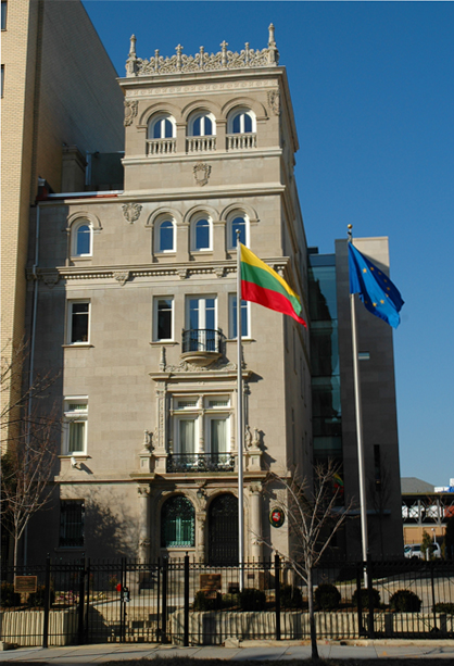 Embassy of lithuania in washington d c wikipedia for Consul external service