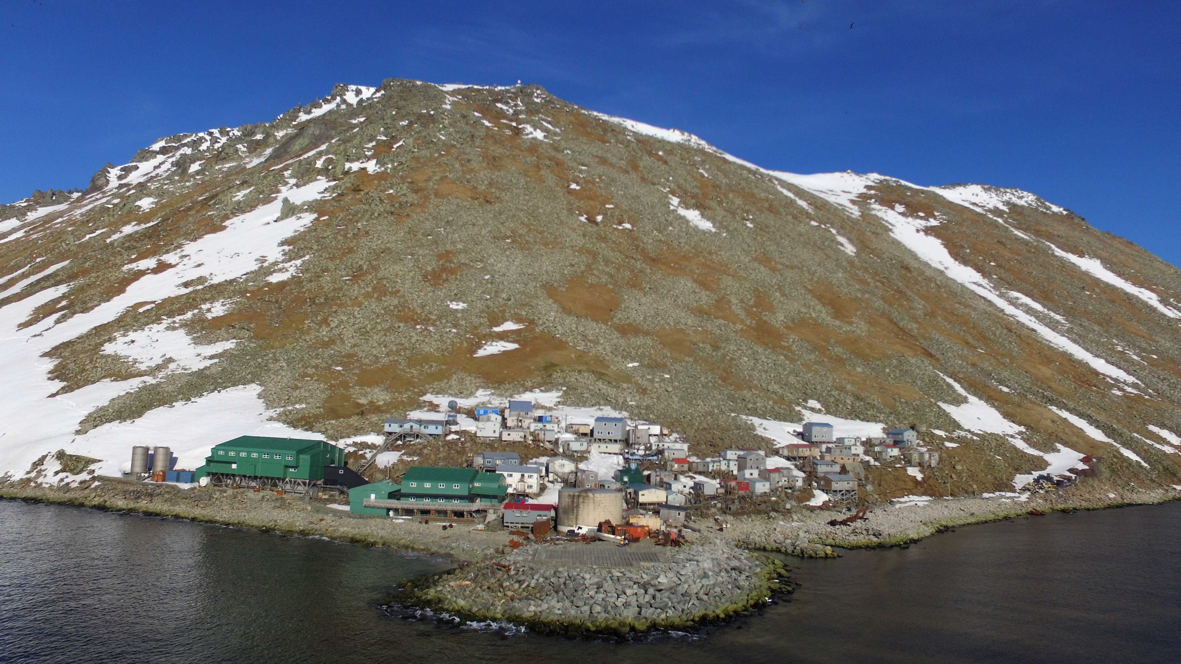 Image of: File Little Diomede Island 2018 Drone Photo Jpg Wikimedia Commons