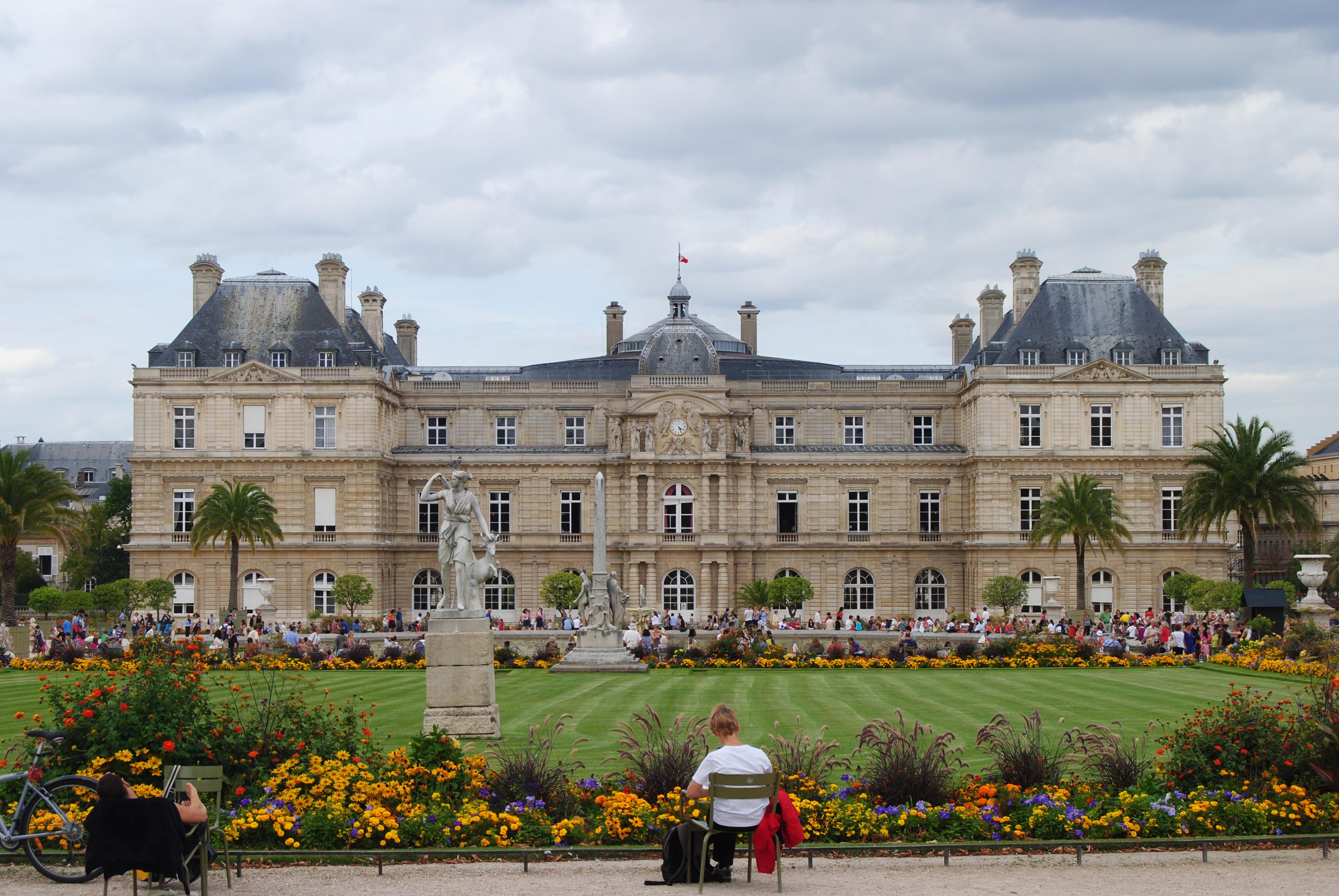 File los jardines de luxemburgo par s jpg wikimedia for Jardines de luxemburgo paris