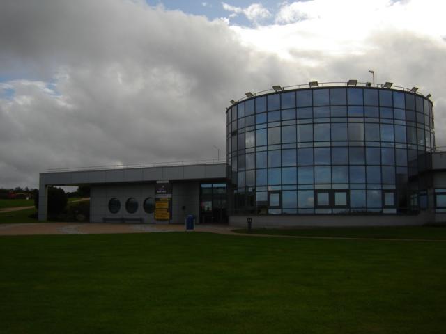 """Ludiver"", Planetarium in Flottemanville-Hague, Manche, France"