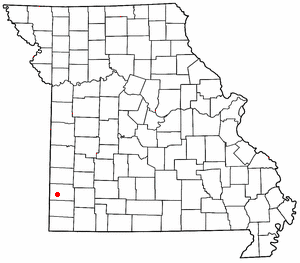 Loko di Webb_City, Missouri