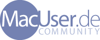 Logo der MacUser.de Community!