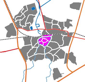 Hoe gaan naar Breda, Centrum met het openbaar vervoer - Over de plek