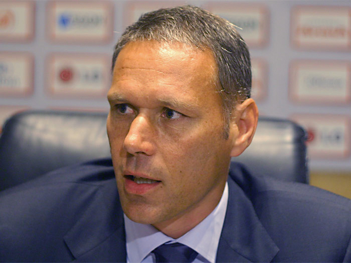 Marco Van Basten earned a  million dollar salary - leaving the net worth at 15 million in 2017