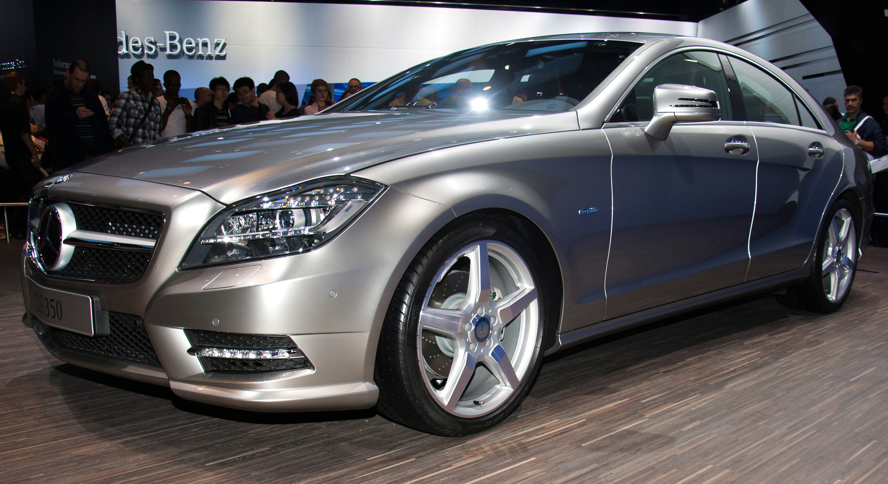 File Mercedes Benz Cls Jpg Wikimedia Commons