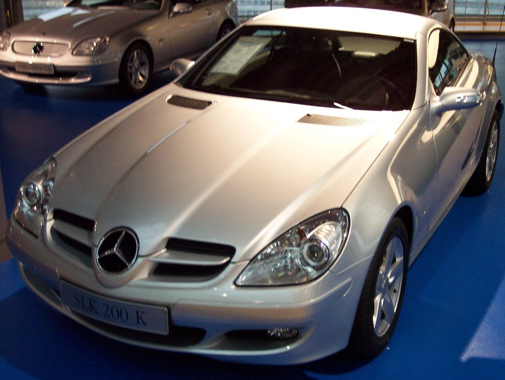 file mercedes slk 200 k wikimedia commons. Black Bedroom Furniture Sets. Home Design Ideas