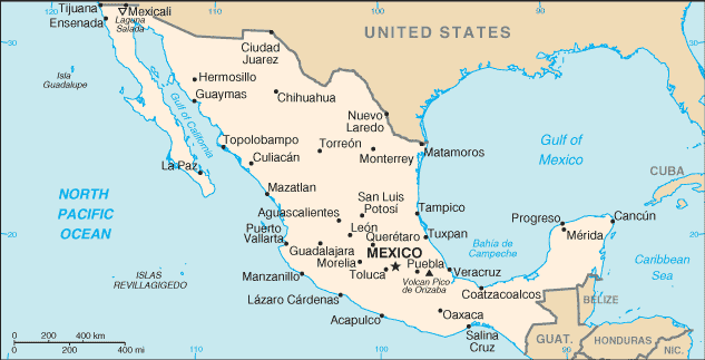 Mexico-CIA WFB Map (2004).png