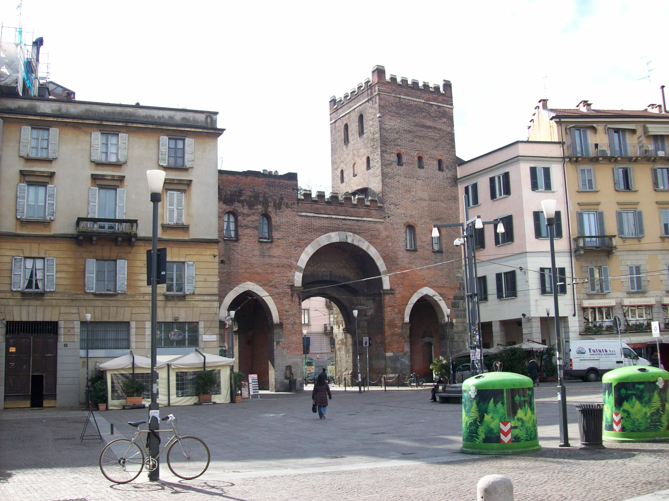 File Milano Porta Ticinese Medievale Lato Interno Jpg