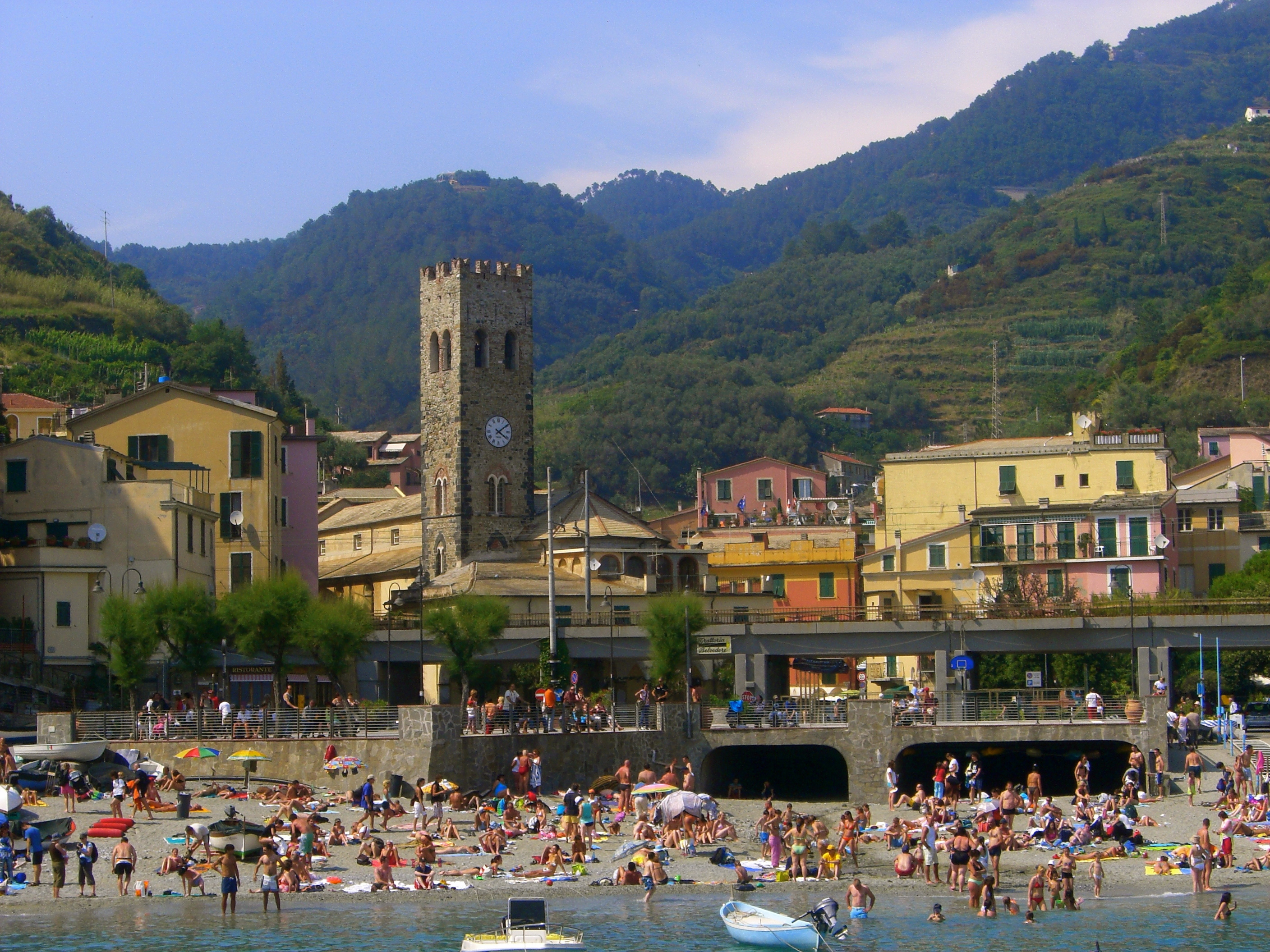 The way i see italy cinque terre in the summer for Hotels 5 terres italie
