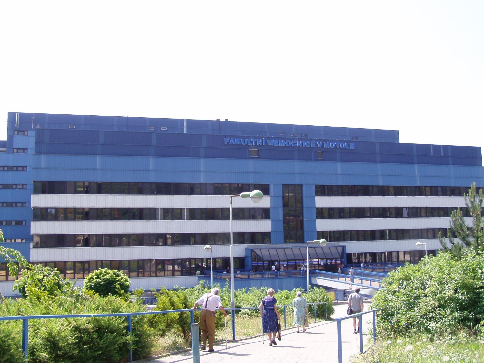 Ilustrační foto: Fakultní nemocnice v Motole. Zdroj: Wikimedia Commons