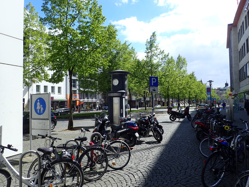 Motorradparkplatz Niederwall