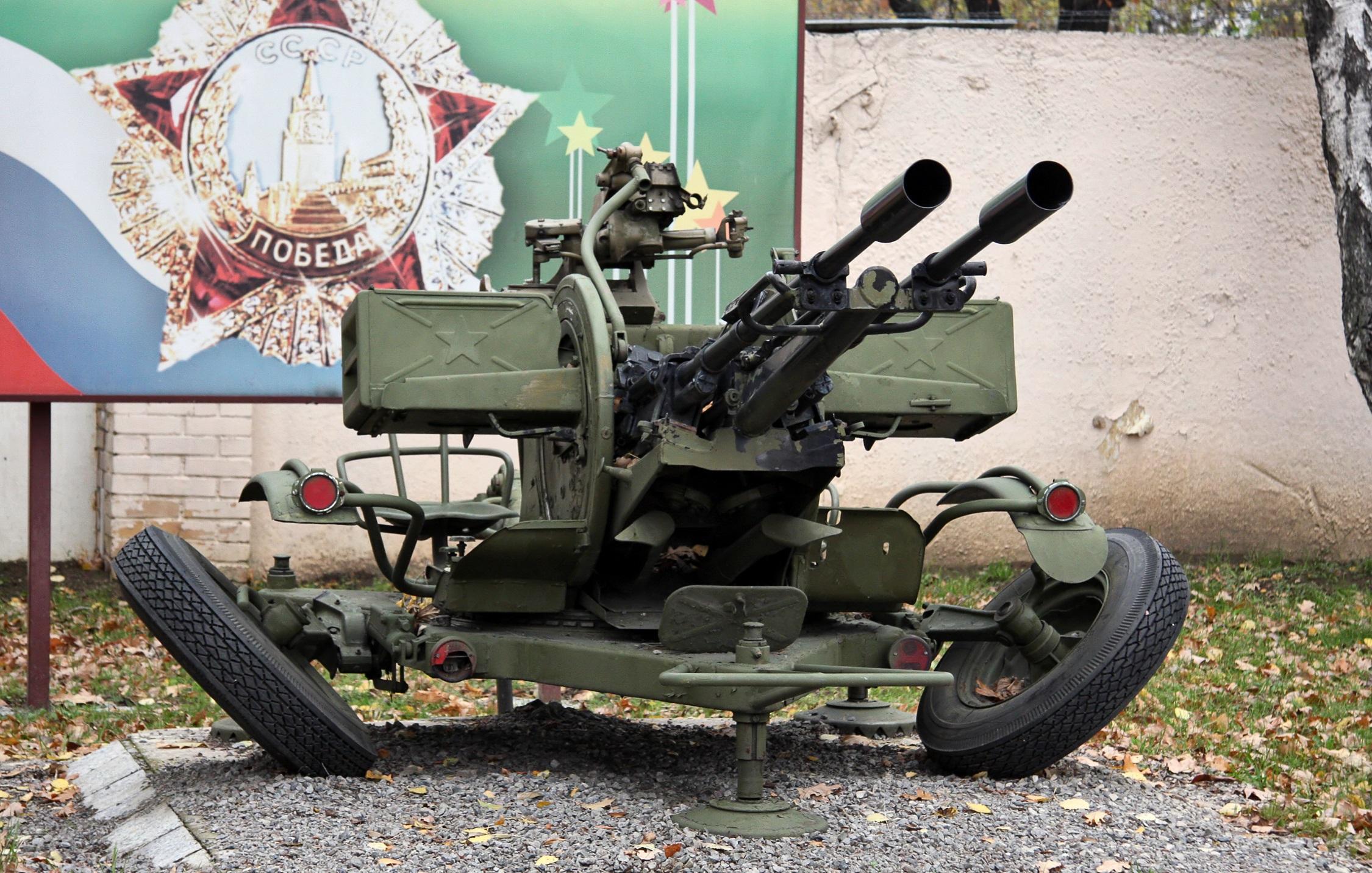 Спаренная зенитная пулеметная установка ЗПУ-2 | огнестрельное ... | 1432x2250