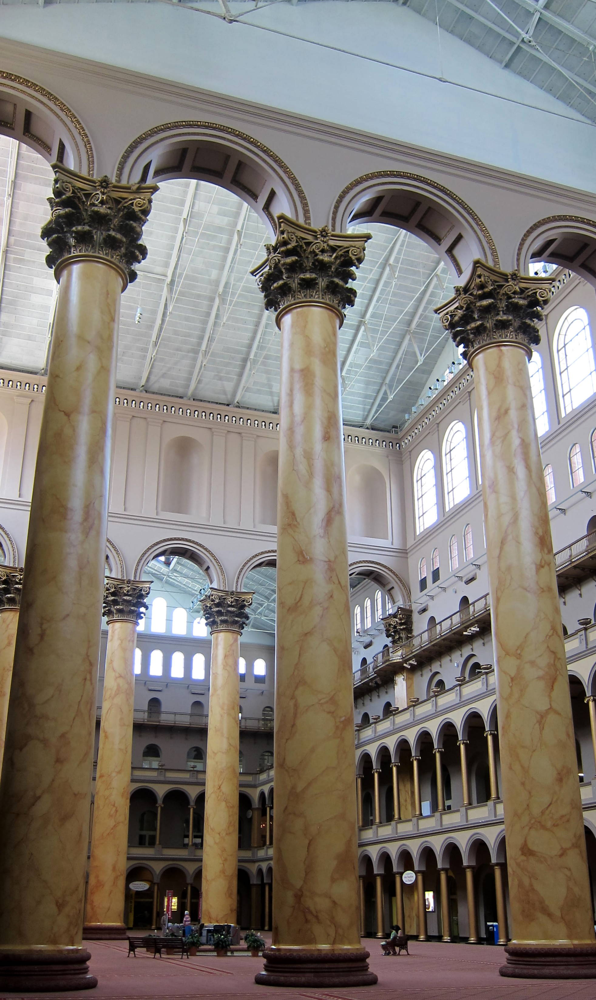 File:National Building Museum   Interior Columns.JPG