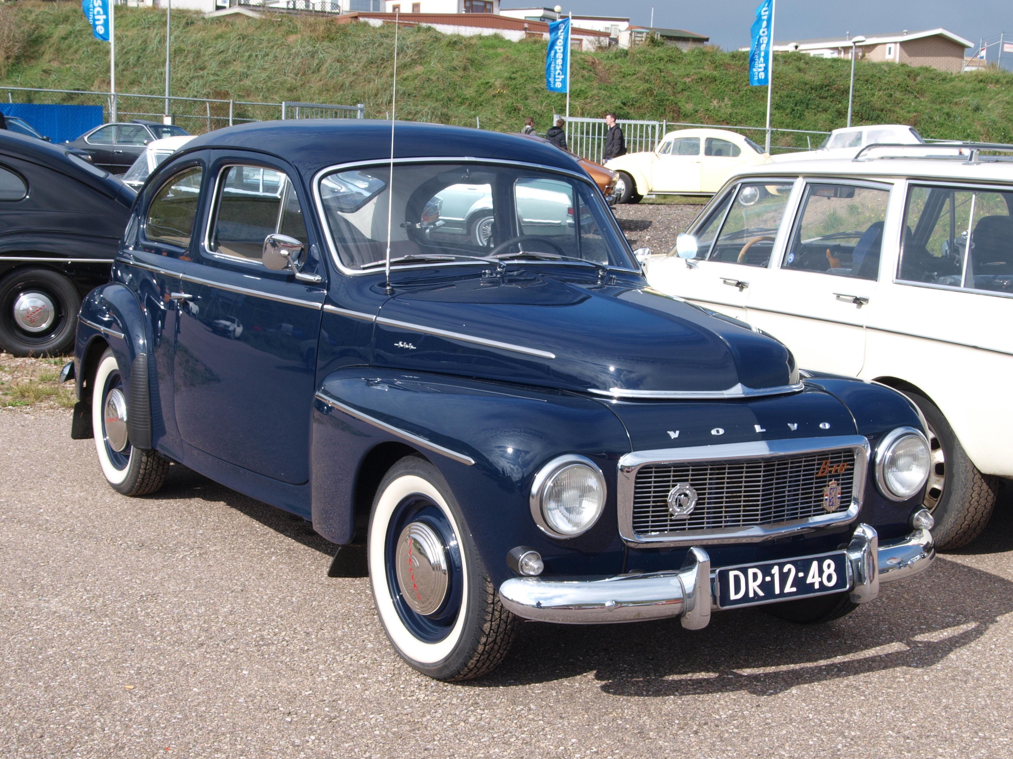 File Nationale Oldtimerdag Zandvoort 2010 1961 Volvo Pv