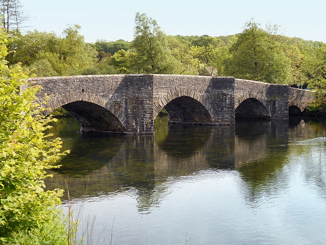 Newby Bridge, River Leven (geograph 4010824)