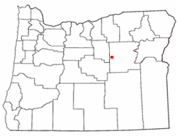 Loko di Dayville, Oregon