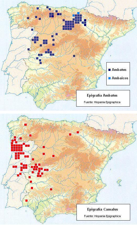 Oposición antroponímica en Celtiberia-Lusitania y áreas de influencia.