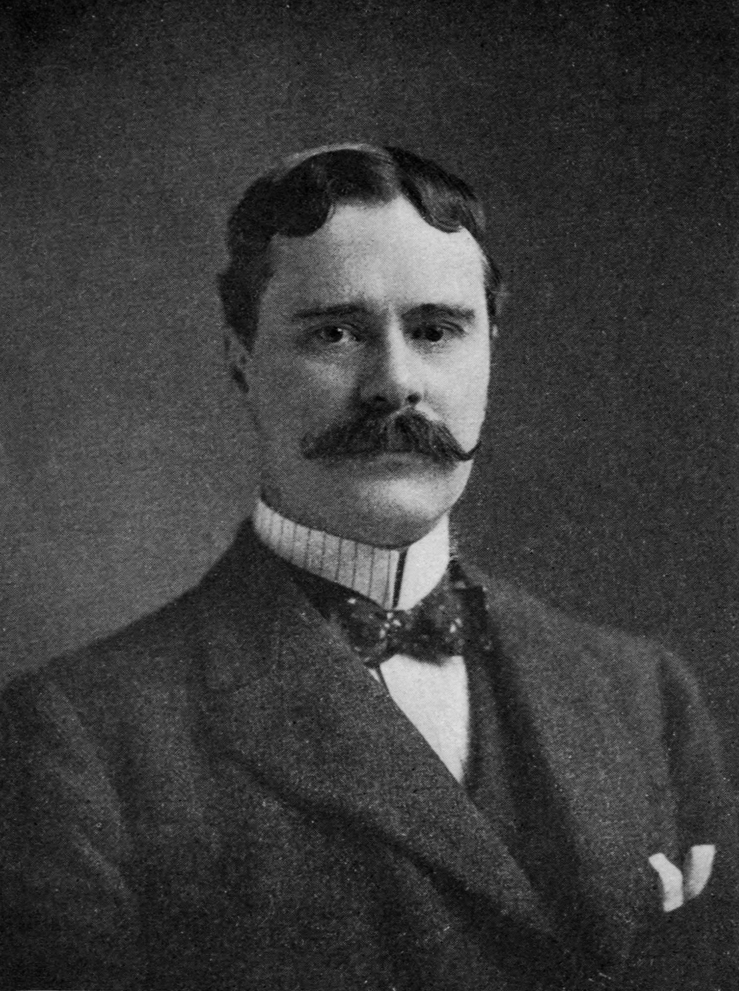 Owen Wister, author of the Western novel ''[[The Virginian (novel)|The Virginian]],'' and friend of 26th U.S. President [[Theodore Roosevelt]]