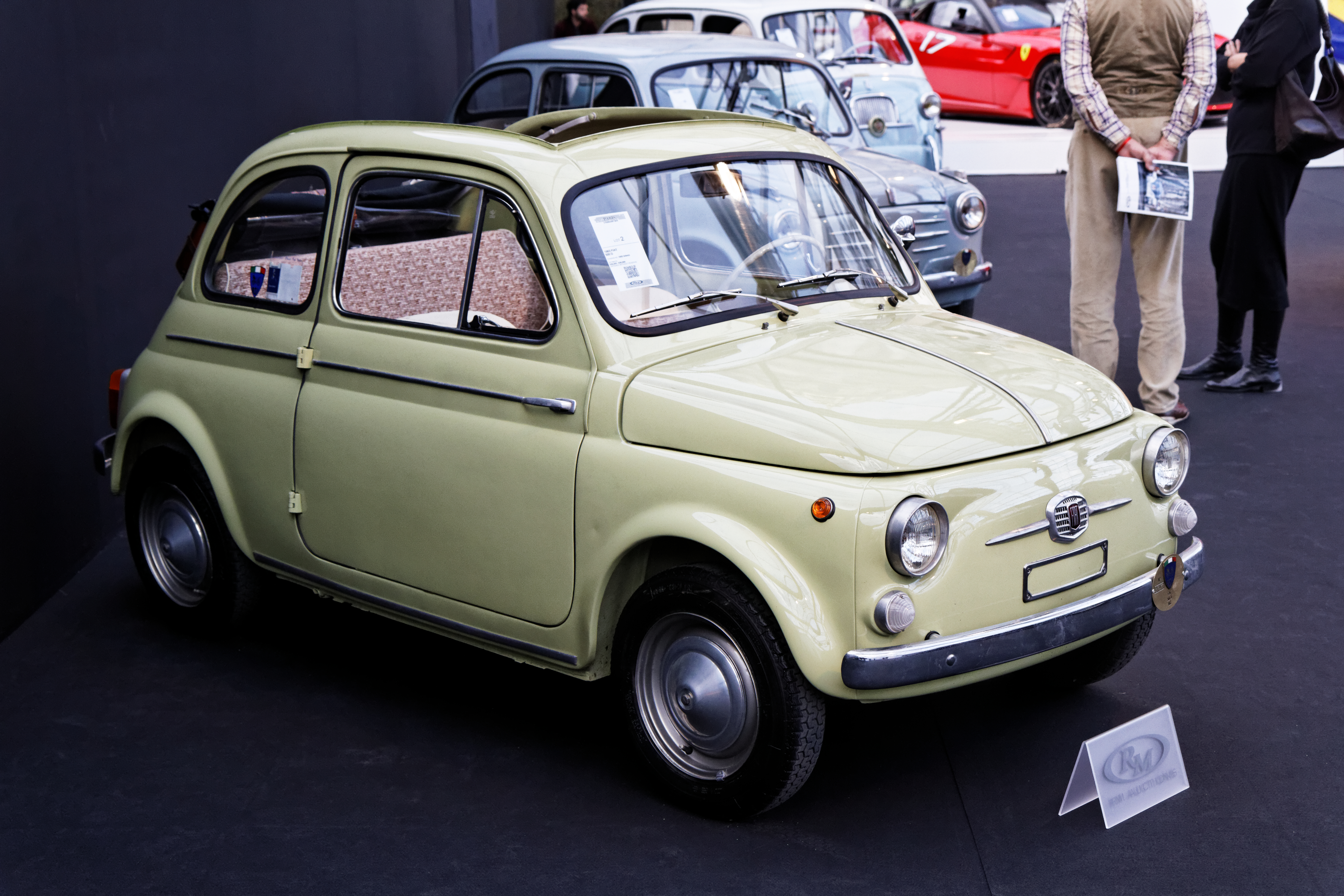 Auction Results and Sales Data for 1963 Fiat 500