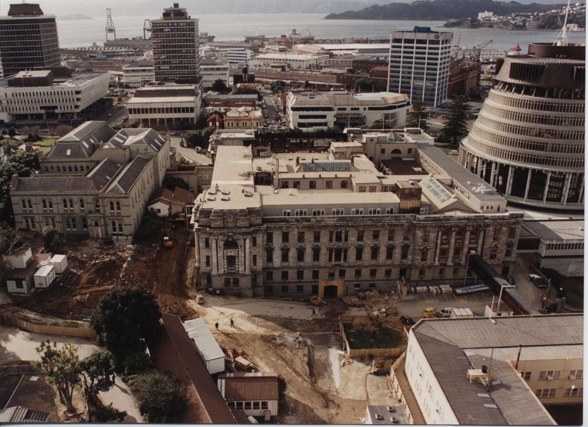 Реконструкция Парламента Новой зеландии