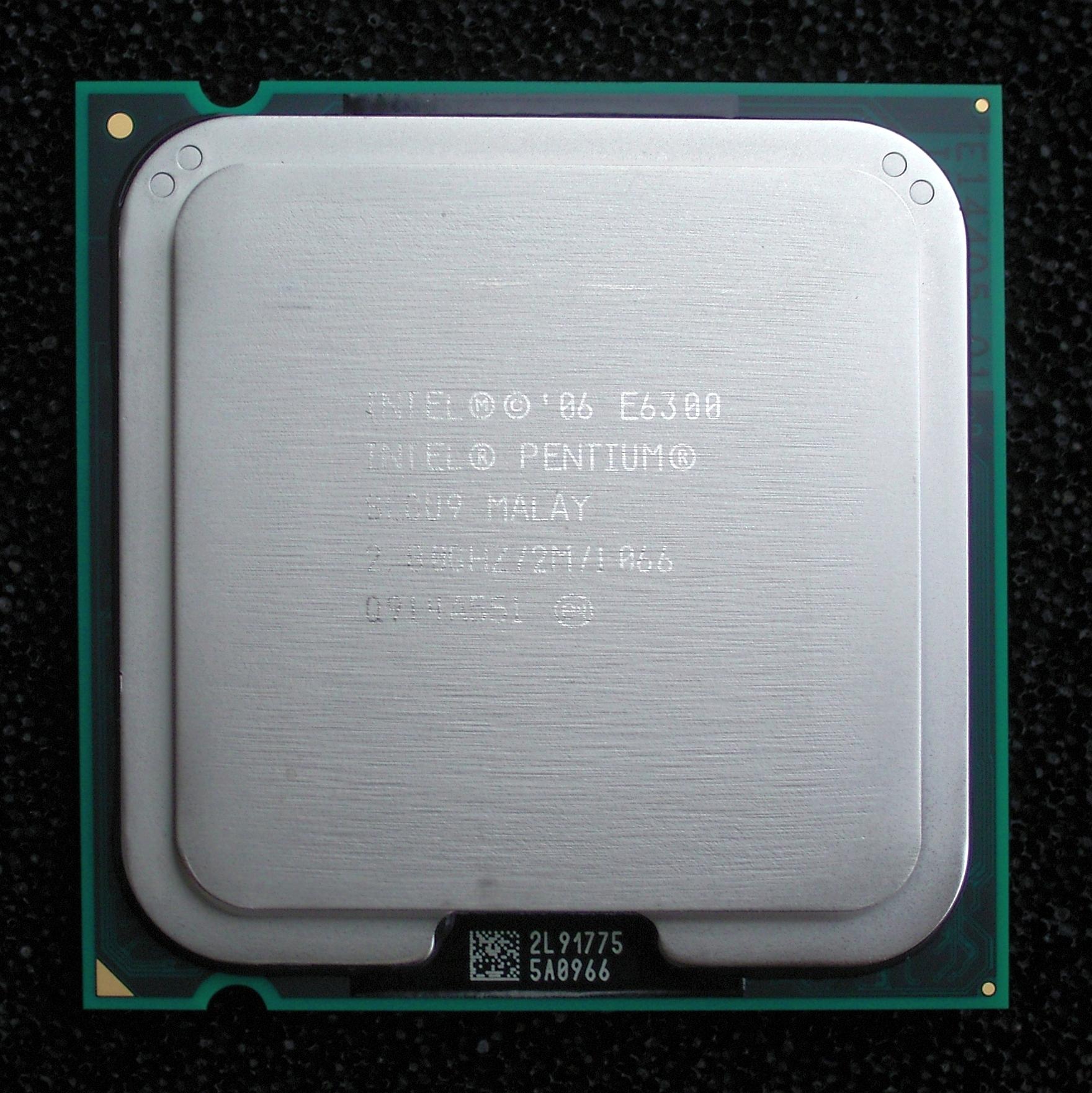 Intel dual core wiki : Percentage chart