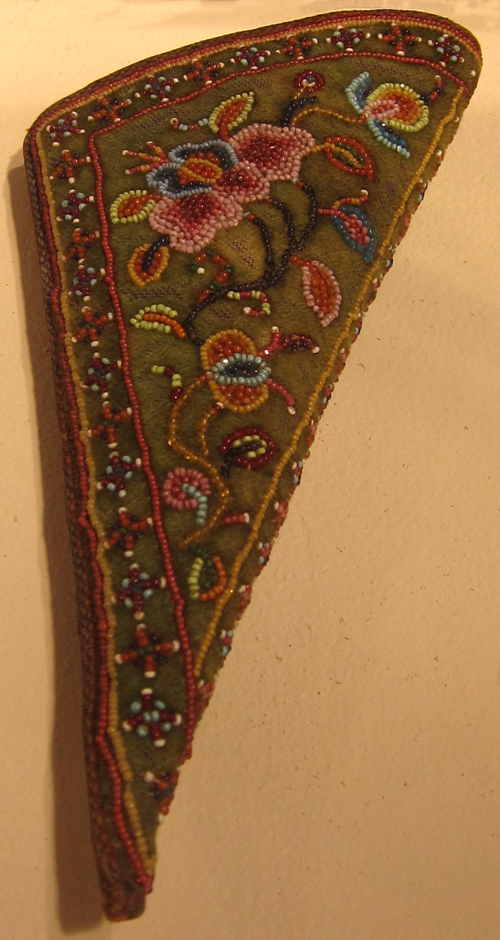 fileperanakan womans ceremonial purse honolulu museum