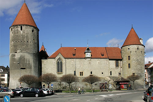 Beautiful castles forts palace around the world page for Yverdon les bain