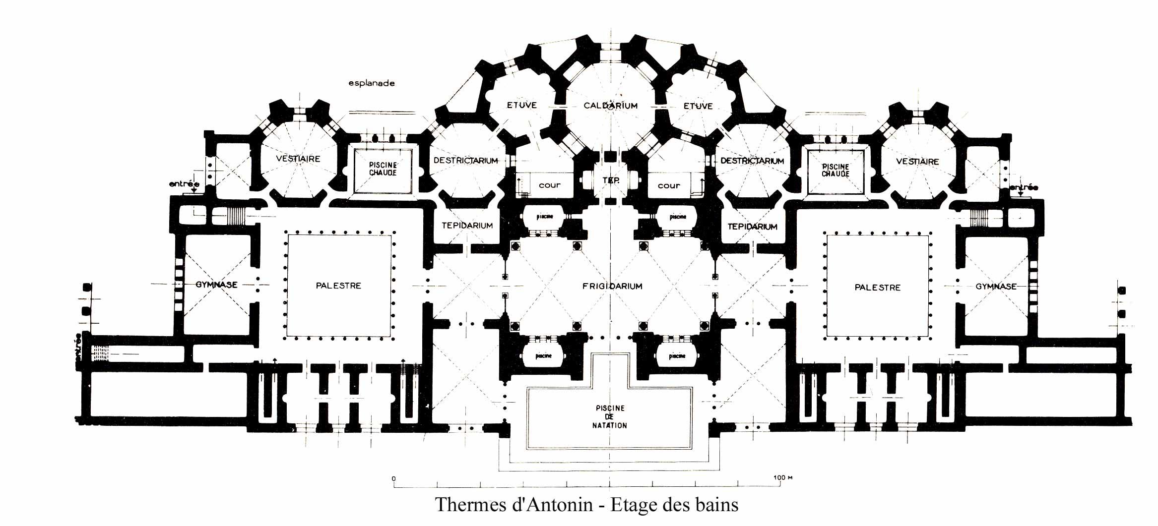 Plan Ville De Hermes