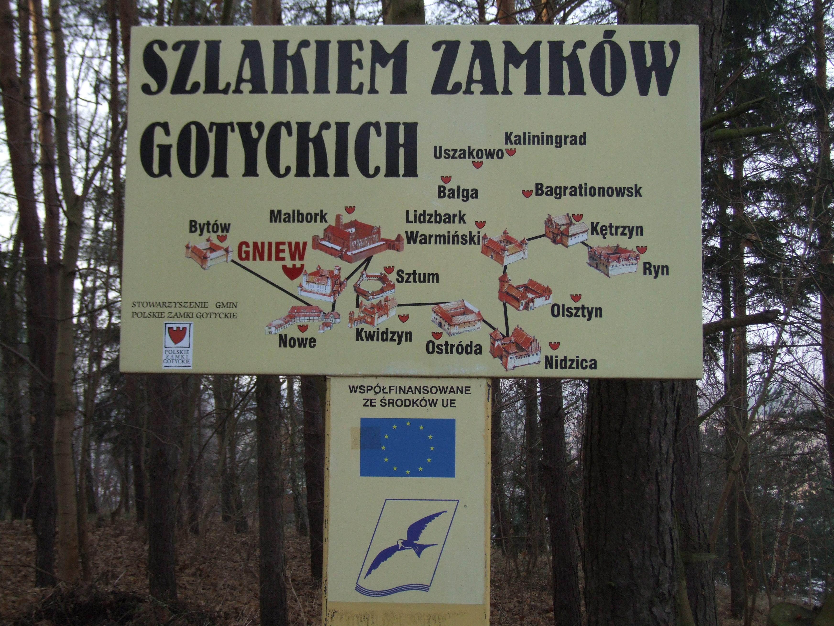 Description Polskie Zamki Gotyckie.JPG