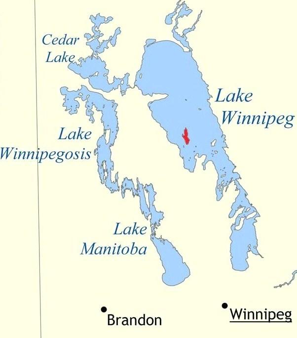 Reindeer Island Wikipedia - Where is winnipeg