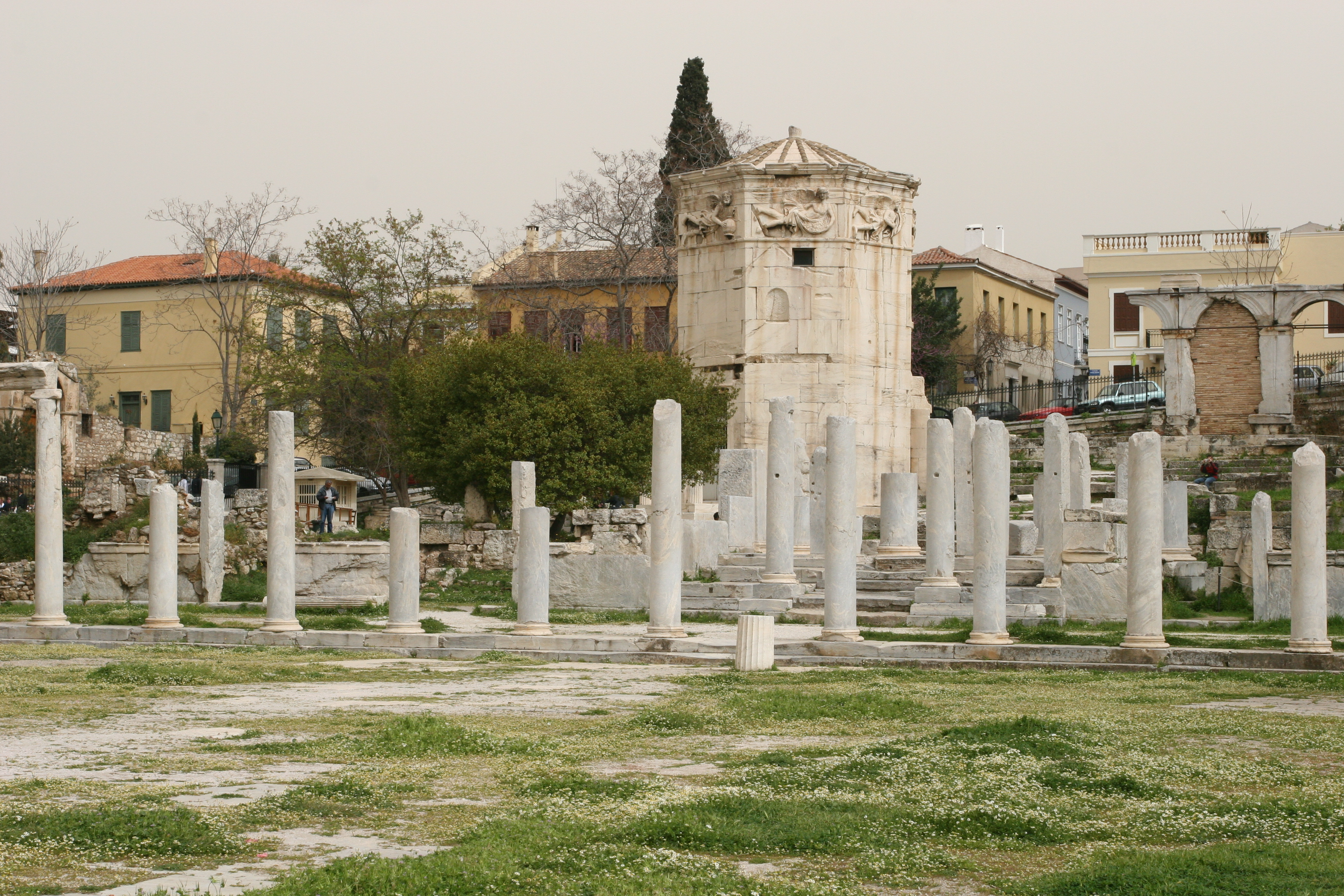File:Roman Agora & Tower of the Winds.jpg - Wikimedia Commons