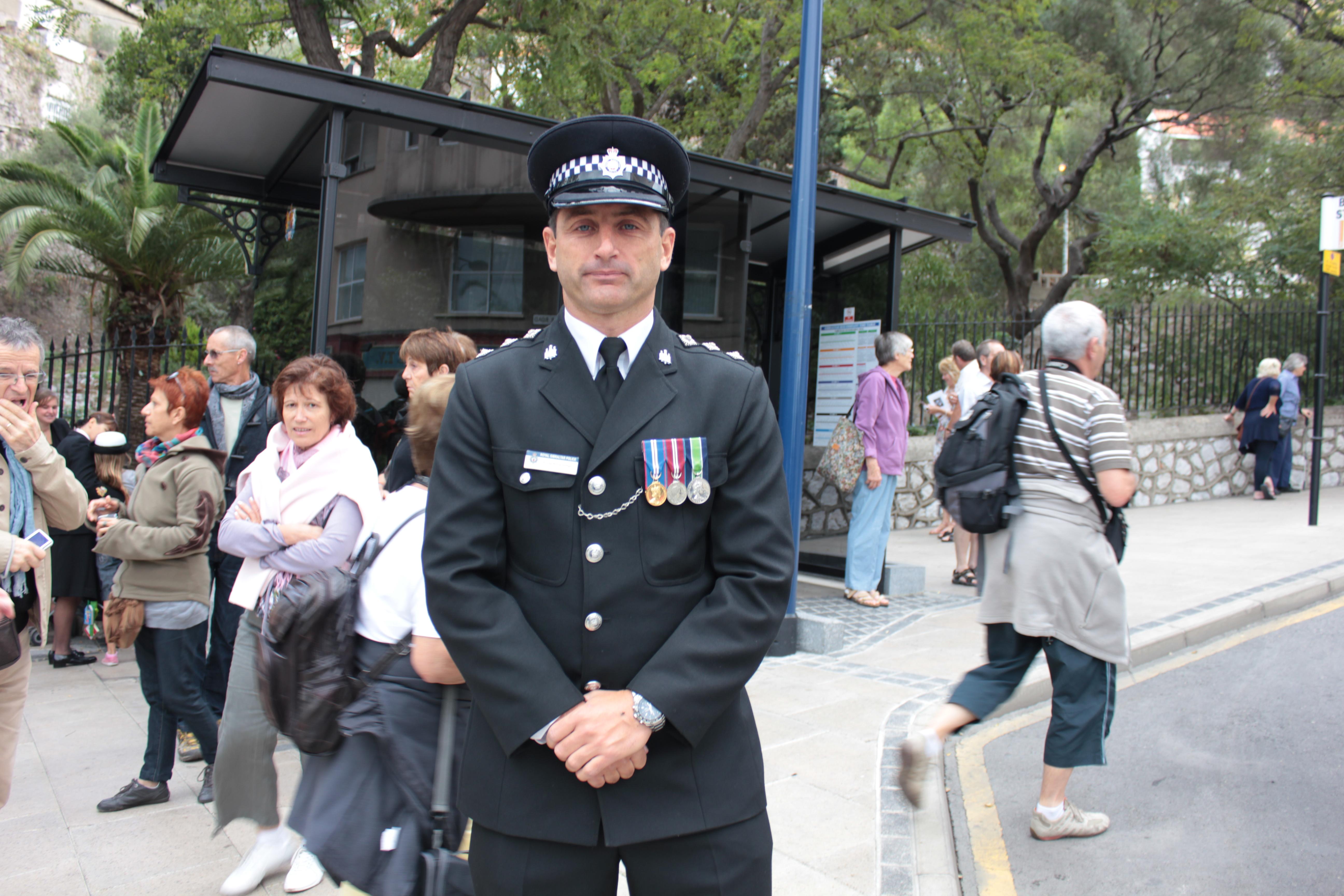 Inspector uniform