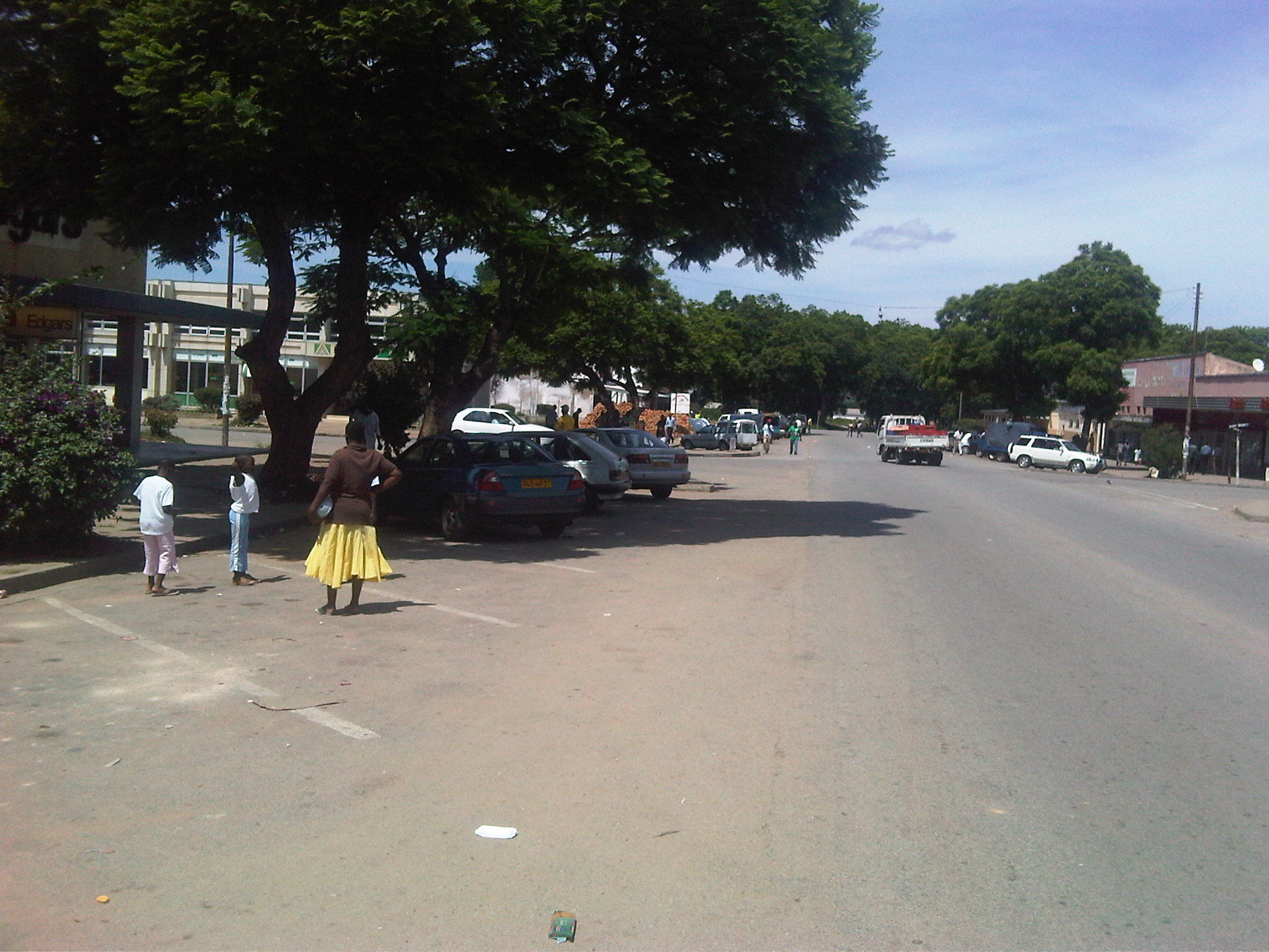 Down the Lane in Chitungwiza